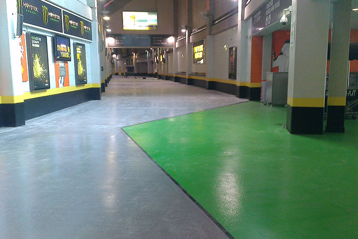 Epoxy Resin Floor Painting