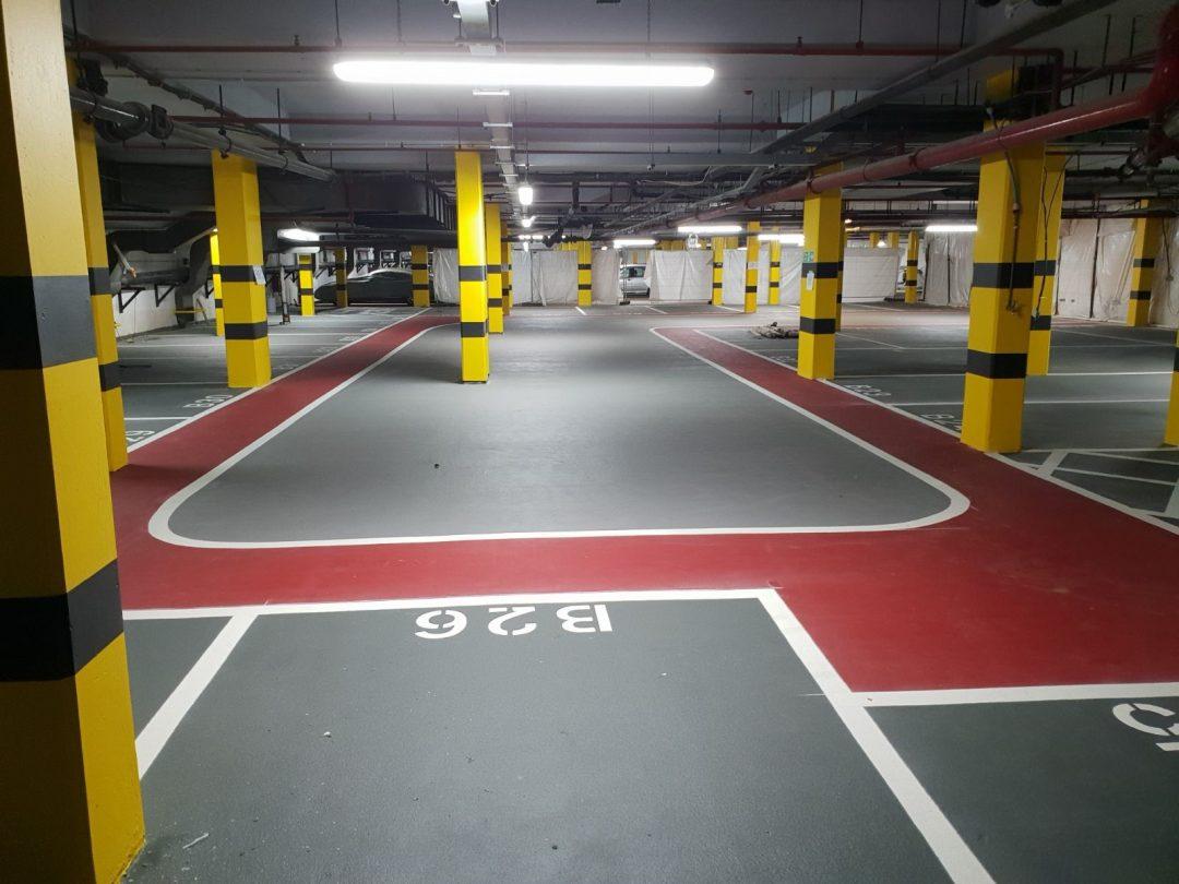 Kensington Car Park Flooring