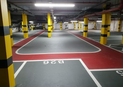 Kensington Car Park Flooring