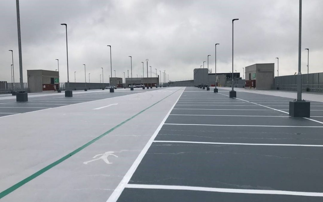 New Terminal 2 at Manchester Airport – car park waterproofing