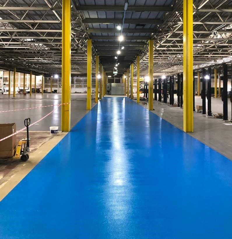 Peterborough Car Dealership Factory – New Deckmaster ID Flooring