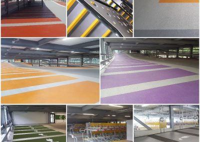 A new Deckmaster car park at The University of Brighton